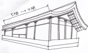 法隆寺東院伝法堂